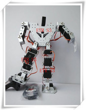 free shipping 17 DOF humanoid Educational robot High   end competitive robot matching with metal gear digital Robotservo RDS3115
