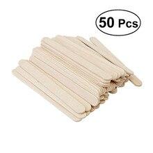 50 шт. 9,3x1x0,2 см Натуральные Цветные деревянные палочки для рукоделия креативного дизайна