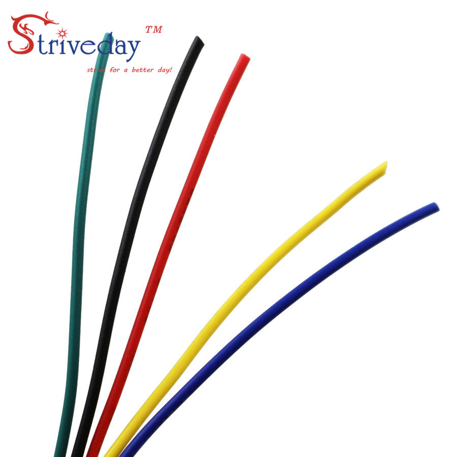 UL1007 28AWG Cable Copper Wire 1 Meter Each Red Blue Green Black ...