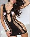 Erotic Lingerie Hot & New antideslizante Femme damas de deslizamiento completo pijamas encantadores para mujer vestido de deslizamiento atractiva ahueca hacia fuera el Slips íntimas