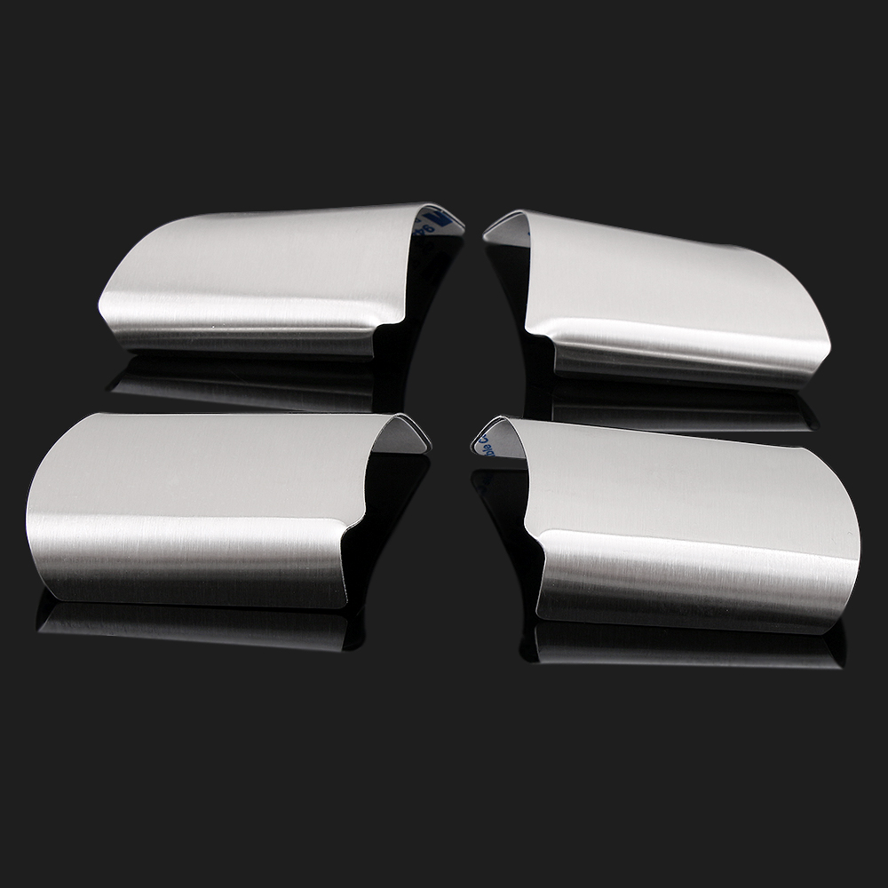 Image 2 - 4Pcs/Set Stainless Steel Steering Wheel Decoration Cover Trim Sticker for Ford Focus 2 MK2 2005   2011 Car Sticker Accessories-in Car Stickers from Automobiles & Motorcycles
