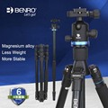 Benro IF18+ Professional Tripod Aluminum Alloy Flexible Bracket For Canon Nikon Baino Tripod SONY SLR Camera With Head Set