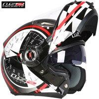 LS2 FF370 Modular Full Face Motorcycle Helmet Flip Up Capacete Casque Casco Moto Open Kask Helmets Helm Motorsiklet
