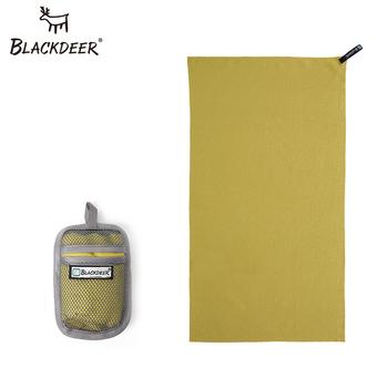 BLACKDEER Outdoor szybki ręcznik do suszenia Ultralight Camping kompaktowe ręczniki kąpielowe ręczna mikrofibra antybakteryjna turystyka piesza tanie i dobre opinie Yarn Dyed Quick-Dry Poliester bawełna Nanofiber material Travelling Camping Hiking Swimming
