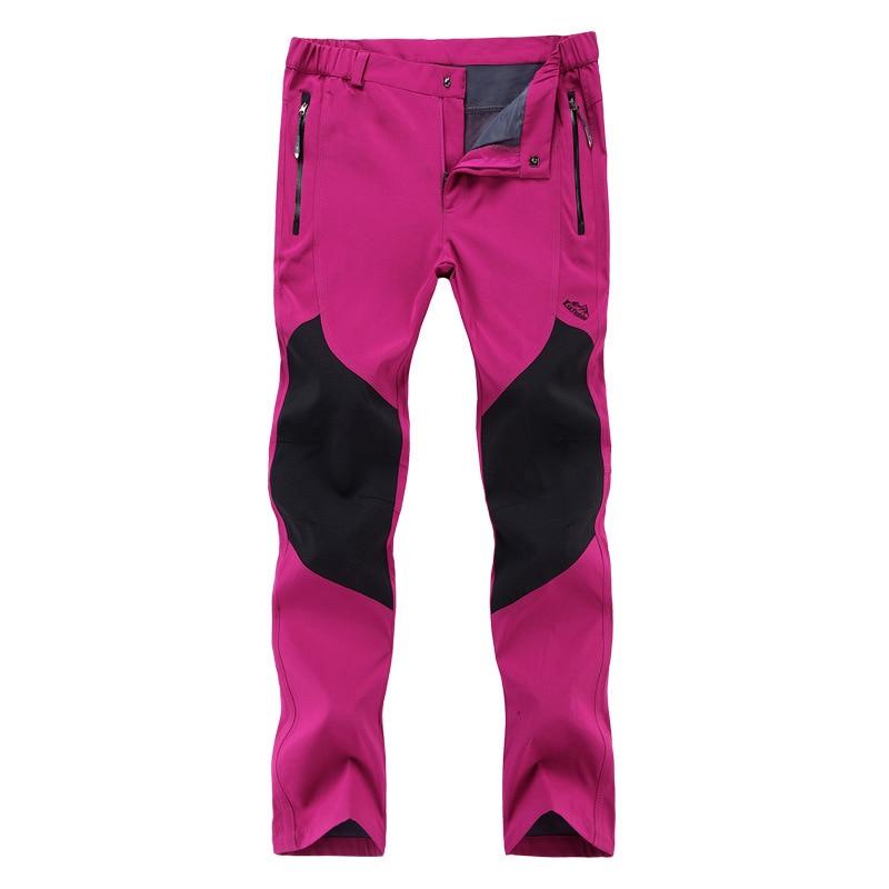 Hot2017 Outdoor Spring Autmn Women Waterproof Patchwork Ski Wear trekking training Pants pantalon femme fishing Hunting Trousers