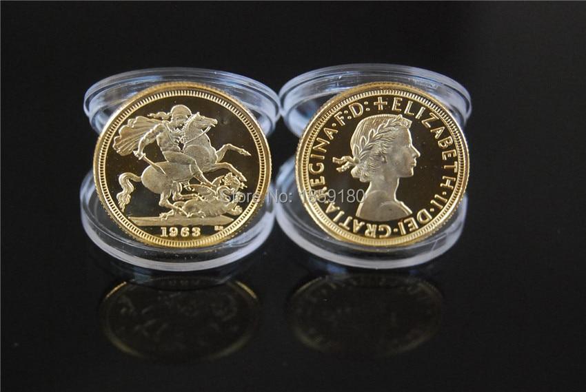 1963 Queen Elizabeth Ii Gold