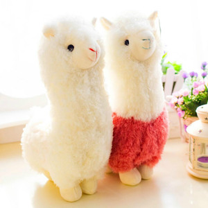 Cute 28cm Cartoon Alpaca Plush