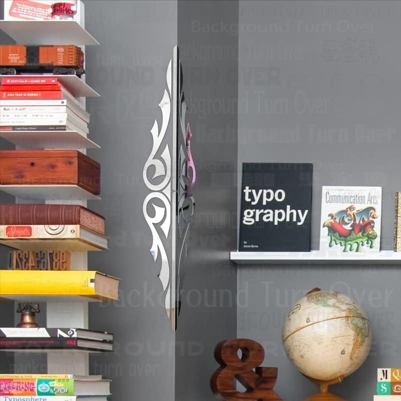 Strømlinjeforme doble vingemønster dekorative hjørnebeskyttere 3d - Hjemmedekorasjon