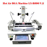 EU No Taxes LY R690 V2 HR Bga Rework Machine Reballing Station With Touch Screen