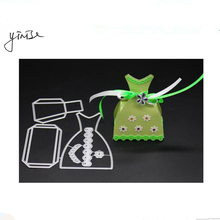 Scrapbook CANDY BOX Die Metal Cutting Dies For Scrapbooking Stencils DIY Album Cards Decoration Embossing Folder Die Cuts Cutter yinise 1641 candy box metal cutting dies for scrapbooking stencils diy album cards decoration embossing folder die cuts cutter