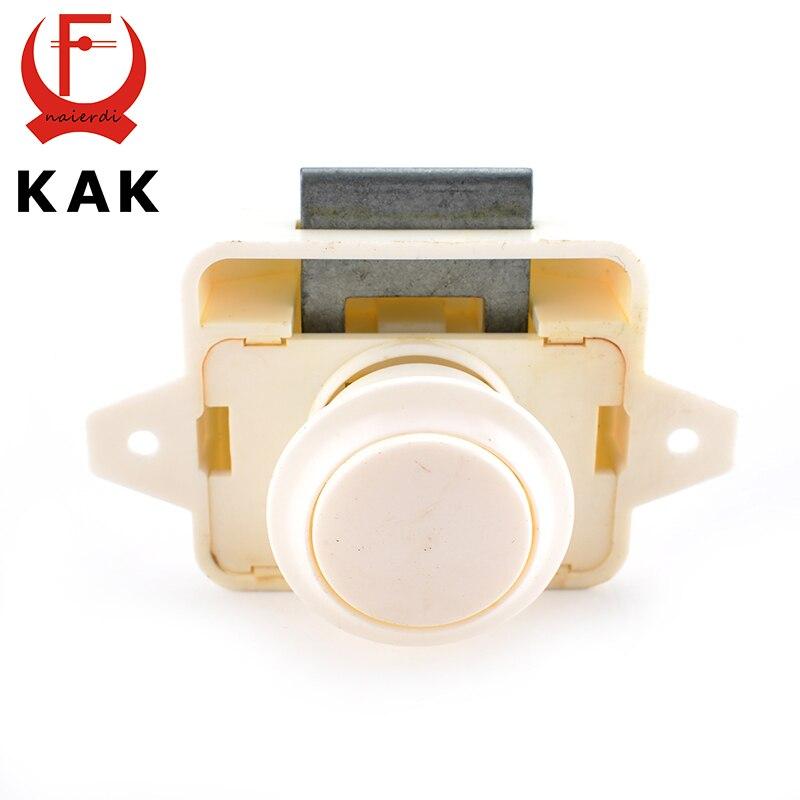 Aliexpress.com : Buy 10PCS KAK Camper Car Push Lock 26mm RV Caravan Boat  Motor Home Cabinet Drawer Latch Button Locks For Furniture Hardware From  Reliable ...