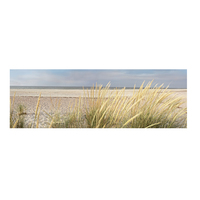 Big Size Wall Canvas Art Seascape Beach Landscape Painting Poster HD Print Sky Island Sand Dunes Wall Pictures For Living Room