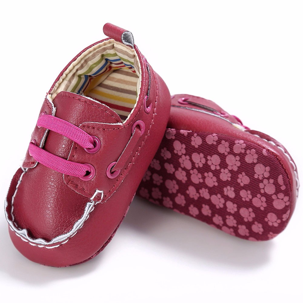 Baby shoe sole for doll Boy Girl Newborn Leather Crib Soft Sole Shoe Sneakers Newborn Baby Boy Shoes First Walkers