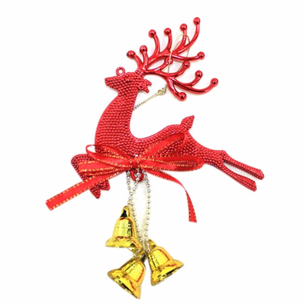 Decorador de arboles de navidad 187 home design 2017 - Casa Del Rbol De Navidad Ornamento Ciervos Chital Colgante Adornos De Navidad Decoraci N Del Partido Ciervos