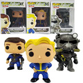 Funko Pop Fallout 4 Vault Boy Lone Wanderer Poer Armor Game Action Figure PVC Collection Toy hot Gifts Free Shipping D5250