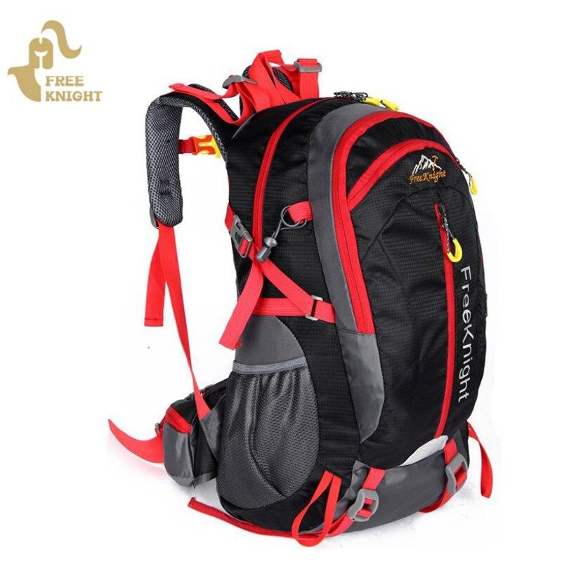 Prix pour Livraison Chevalier 40L Ultra-Léger polyester Imperméable camping randonnée Escalade alpinisme Sac À Dos En Plein Air Loisirs Voyage Sacs