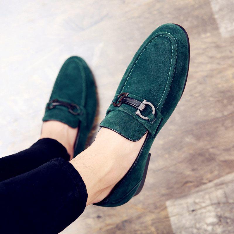 De Luxe Daim Bateau Slip Chaussures Cuir Pour hui Casual Mocassins Chaussure En Automne Hommes Hei Sur mlv 43 Homme 37 Top Marque Y4qXX5