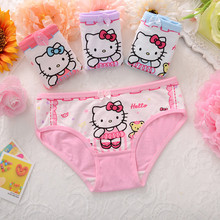 4pcs/lot Kids Girls Panties Cartoon Clothing