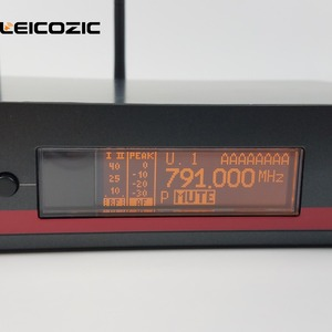 Image 2 - Lecozic micrófono inalámbrico de mano ew100 135g3 g3, micrófono profesional uhf