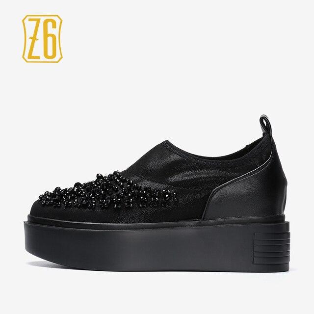 Sporty Women's Sneakers Shoes Sneakers Rhinestone Size 36 - 41 Khaki A.002