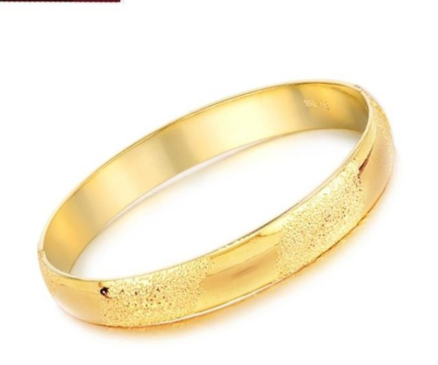 bamboo bracelet product hardy jewelry gold metallic john slim bangles lyst bangle in