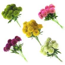 Dozzlor Artificial diente de león flores hogar muebles boda Día de San Valentín fiesta decoración plástico flor simulación planta flor