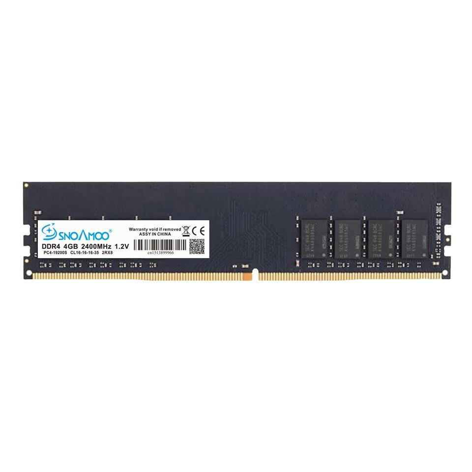 SNOAMOO Nouveau Bureau PC DDR4 8 GB 2133-2400 MHz CL15 PC4-17000S 1.2 V 2Rx8 288-Pin DIMM Pour Intel ordinateur Béliers Garantie À Vie - 3