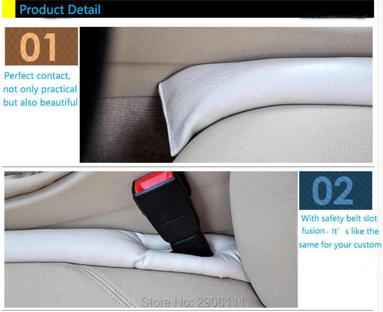 Pegatinas de accesorios de coche para espacio de asiento almohadilla a prueba de fugas para coche Honda fit accord crv civic 2006-2012 jazz City y HRV