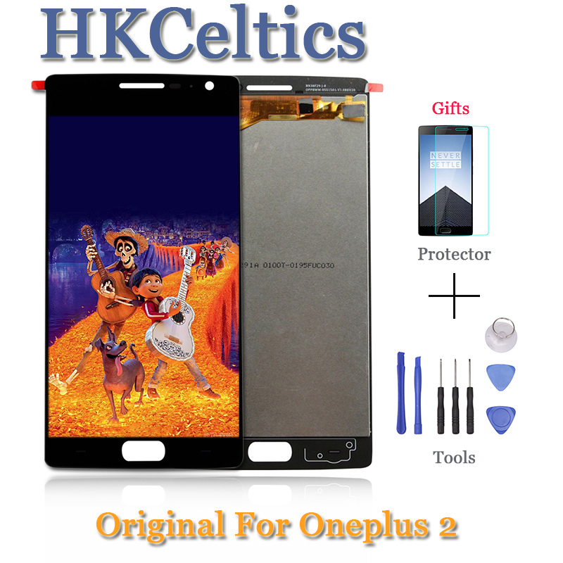 For Oneplus Two OnePlus 2 One Plus 2 A2001 A2003 A2005 LCD Display And Touch Screen Mobile Phone Repair Lcds Digitizer Assembly