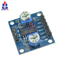 Diymore PAM8406 5W * X Digitale Versterker Board Met Volume Potentiometer 5Wx2 Stereo Module(China)