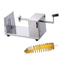 1 pcs coupe de pommes de terre machine spirale machine de découpe puces machine Accessoires de Cuisine Cuisine Outils Chopper De Pommes De Terre Puce