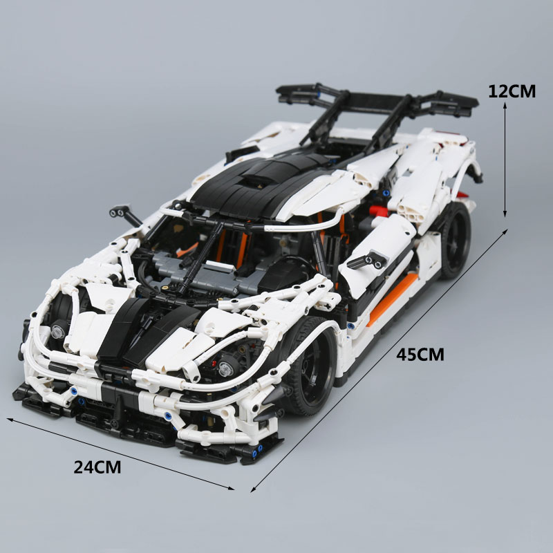 Image 5 - Ship From Spain DHL 23002 Technic Series The MOC 4789 Changing Racing Car Children Building Blocks Bricks Kids Toys Cars Model-in Blocks from Toys & Hobbies