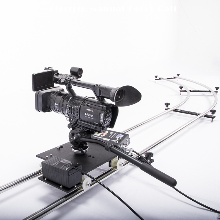 Twzz Time-lapse Photography Movie Track Frame-By-Frame Delayed Electronically Controlled Slide Rails Slider With Electric Car