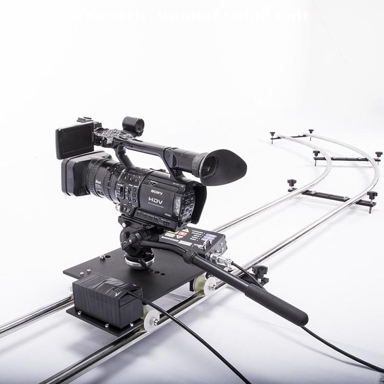 Twzz Time-lapse photographie film piste cadre par cadre retardé électroniquement contrôlé glissière Rails curseur avec voiture électrique