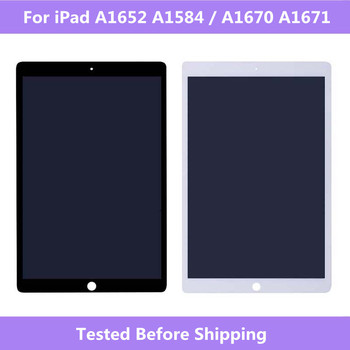 """LCD Full Screen For iPad Pro 12.9""""A1652 A1584 A1670 A1671 LCD display+Touch screen Assembly For iPad Pro 12.9 Tablet Screen"""