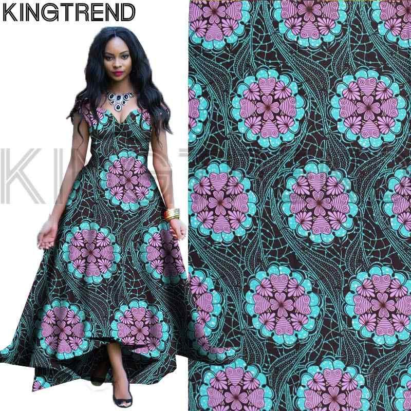 Trendy baumwolle Wachs Druck Afrikanische stoff Edle red Afrikanischen wachs druck blumen stoff Ankara für hochzeit 6 yards H17052701