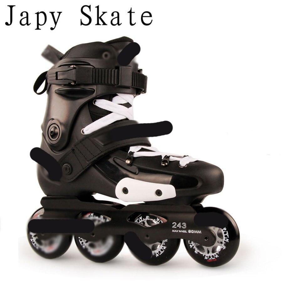 Jus Japy Skate 100% D'origine FRMX Slalom Professionnel Patins À Roues Alignées Rouleau Adulte De Patinage Chaussures Coulissante Livraison De Patinage Patines