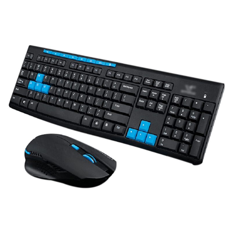 2.4Ghz Wireless Gaming Gamer Keyboard And Mouse Kit For Desktop Pc Laptop Hk3800(China)