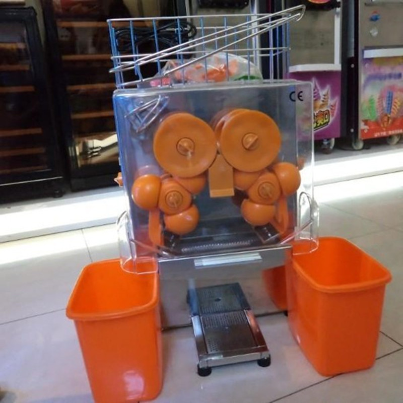 2000E-2 Commercial automatic electric orange juicer , industrial orange juice making machine for sale ZF