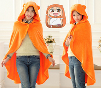 Anime Himouto Umaru Chan Sankaku Cloak Hoodies Flannel Coat Umaru Chan Doma Cape Cosplay Costume
