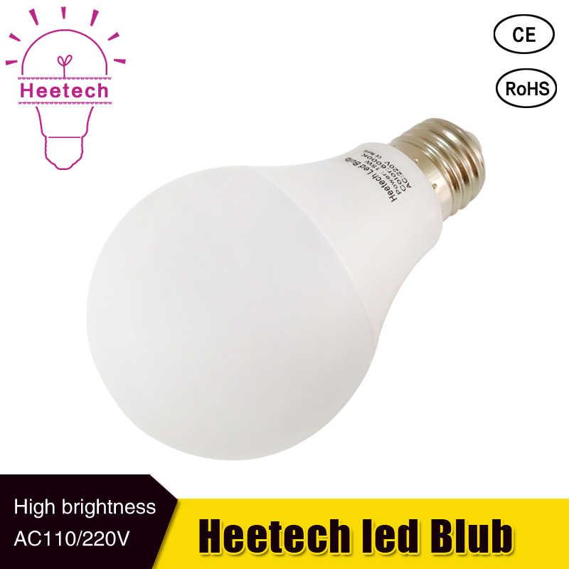 O bulbo 230 v 220 v 110 v e27 conduziu a lâmpada b22 smd 2835 3 w 5 w 7 9 12 15 w conduziu a lâmpada para casa