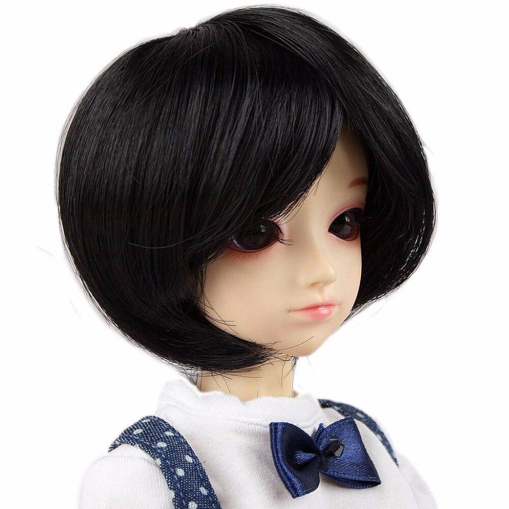 """PF 88# Light Gray Short Wig 1//4 MSD AOD DOD BJD Doll Dollfie 7-8/"""""""