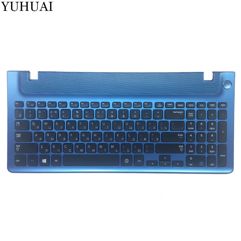 Russian keyboard with blue frame for samsung NP355E5C NP355V5C NP300E5E NP350E5C NP350V5C RU laptop keyboard layout new laptop keyboard for samsung np900x3a 900x3a ru russian layout
