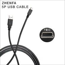 Cable USB Zhenfa para cámara nikon SLR UC E4 D7000 D90 D200 D3000 D3100 D3X D40X D50 D60 D70 D70s D80 D700 CABLE de datos