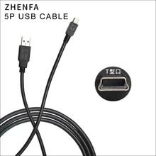 Zhenfa كابل يو اس بي لكاميرا نيكون SLR UC E4 UC E5 D7000 D90 D200 D3000 D3100 D3X D40X D50 D60 D70 D70s D80 D700 كابل بيانات
