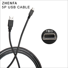 Zhenfa usbケーブル用ニコン一眼レフカメラUC E4 UC E5 d7000 d90 d200 d3000 d3100 d3x d40x d50 d60 d70 d70s d80 d700データケーブル