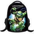 2017 Nueva Moda Bolso de Escuela para Niños Fresco 2D Mutant Ninja Turtles Niños Mochilas Niños Mochila Escolar Mochila Muchacho Infantil