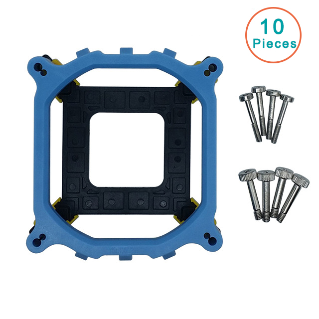 10pcs/lot Desktop CPU <font><b>Cooler</b></font> Fan bracket screw mounted heatsink Holder Base For LGA2011/1155 1150 1156/1366 <font><b>socket</b></font>-10br568 image