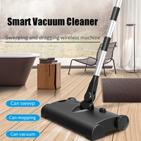 Cordless Vacuum Cleaner Handheld Push Smart Portable Adjustable Vertical High Sweep Dust Collector Home Charging Sweeper