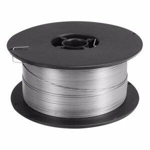 Image 2 - 1 rulo paslanmaz çelik katı özlü MIG kaynak teli 0.8mm 500g/1kg teller için gıda/genel kimyasal ekipman